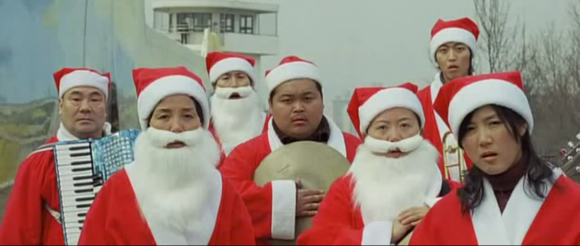 South Korea Sympathy For Lady Vengeance Santa Claus