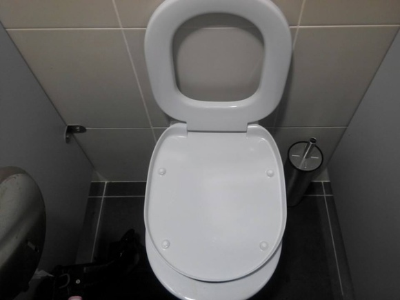 That toilet is not correct